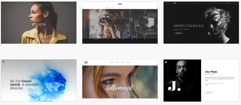 Weebly Hosting Themes